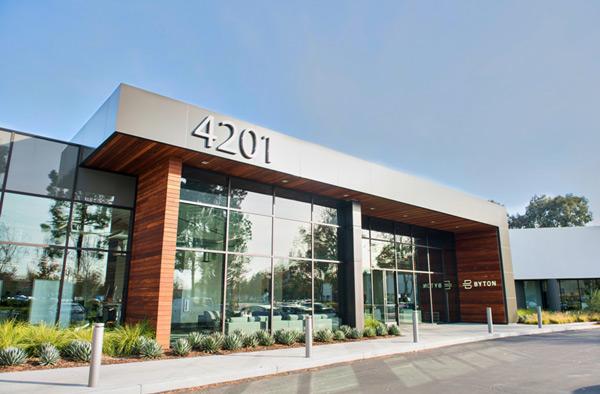 拜腾位于硅谷的北美总部