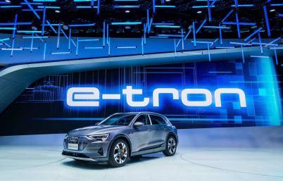 奥迪e-tron明年4月确认上市,你还会买58万的Model 3吗? | 广州车展