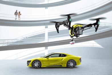 哈曼在CES上发布互联汽车解决方案,已经用于Rinspeed概念车 Ʃtos