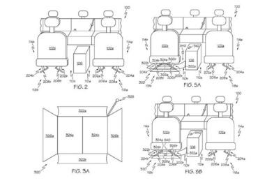 丰田新专利曝光,收集座椅缝隙掉落物品