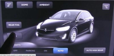 特斯拉升级新版Autopilot 2.0,新增自动远光灯功能