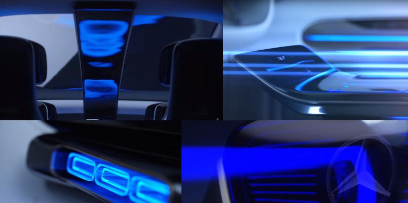 奔驰全新纯电动概念SUV