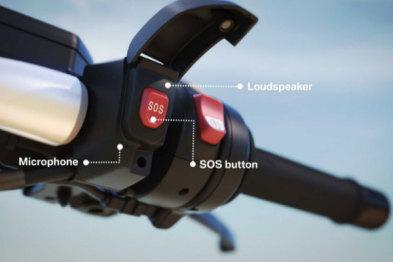 宝马为摩托车爱好者推出SOS呼叫系统