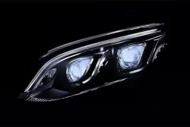 戴姆勒研发智能像素车头大灯