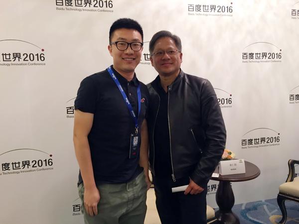 黄仁勋接受车云高级记者于本一专访