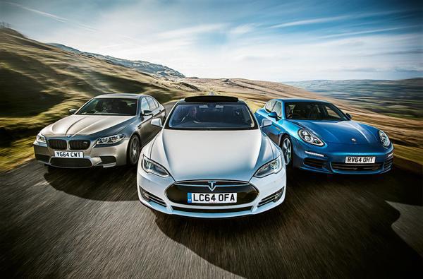 德系豪华汽车品牌开始向特斯拉发起挑战了