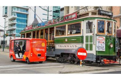 新西兰推出无人驾驶电动公交车