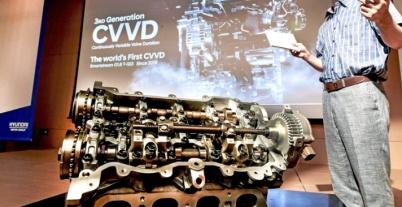 现代公布CVVD发动机技术