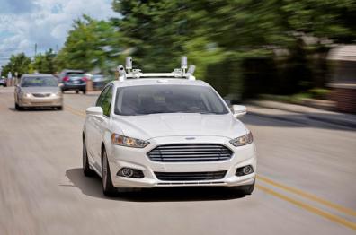 福特将于2017开始在欧洲测试自动驾驶汽车