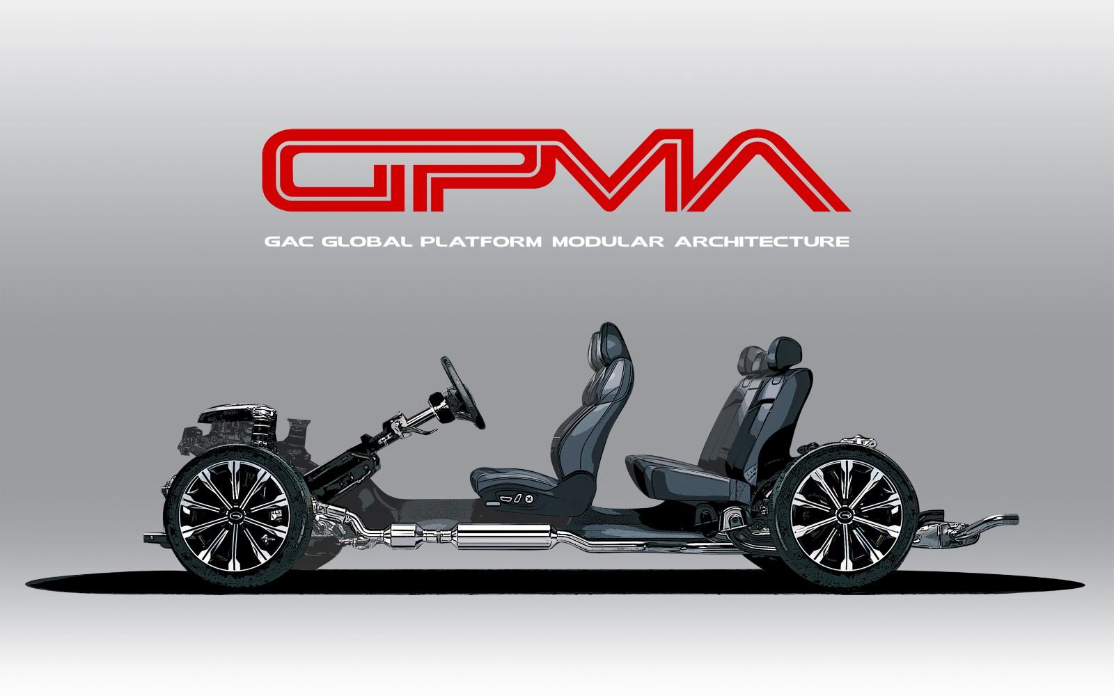 广汽全球平台模块化架构GPMA