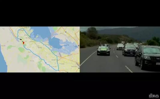 英伟达无人车开上硅谷高速