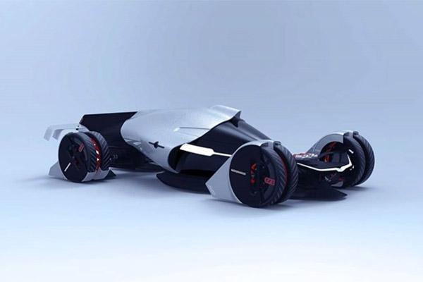 特斯拉涡轮_特斯拉T1概念赛车曝光,全3D打印组件 【图】- 车云网