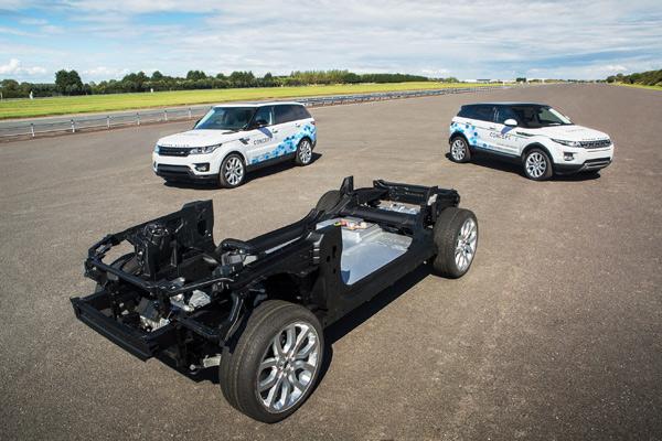 eDM电气化平台和路虎概念车