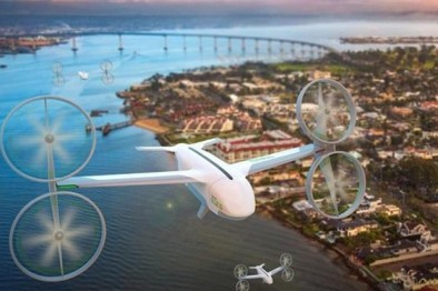Uber Air空中叫车有望2020年上线