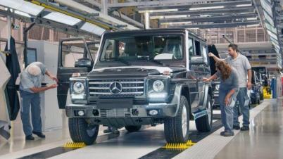 麦格纳将为奔驰、宝马、丰田和捷豹路虎代工造车