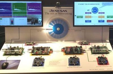瑞萨将演示车载以太网新一代通信标准