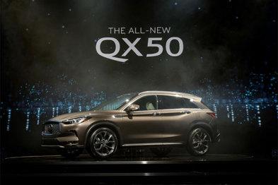 【新车悬念】英菲尼迪新QX50:悬念可不只有VC-T