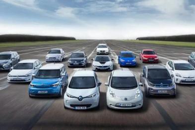欧洲电动汽车销量大涨