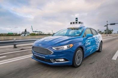 福特宣布将在2019年启动自动驾驶汽车测试计划