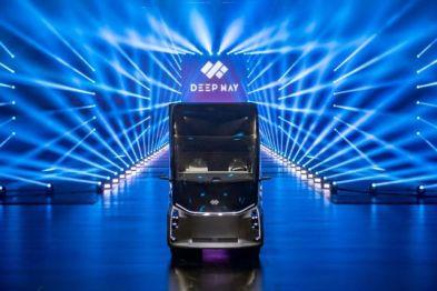 卡车风阻系数居然比跑车低,卡车新势力DeepWay首款概念车帅过特斯拉的Semi