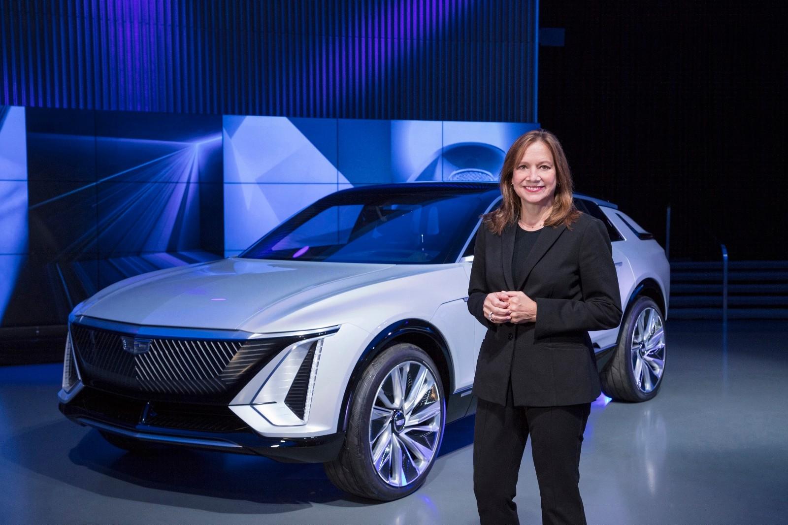 通用汽车董事长兼首席执行官玛丽·博拉女士在通用汽车科技展望日上致辞