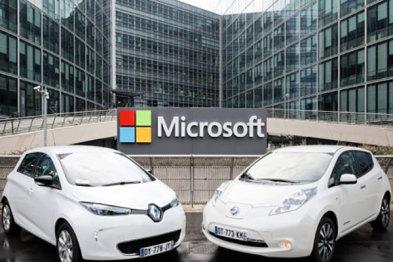 微软和雷诺日产合作研发下一代智能联网汽车