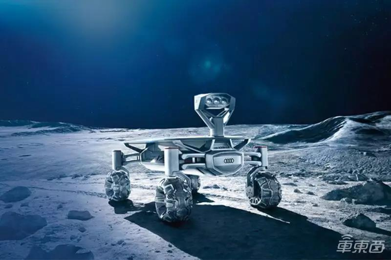 Audi lunar quattro概念车