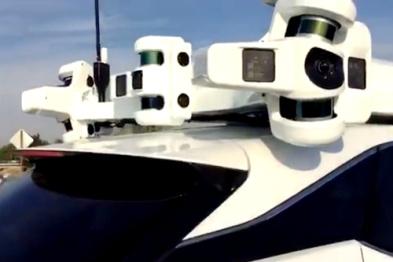 苹果自动驾驶测试车数量增至45辆,在加州排名第二