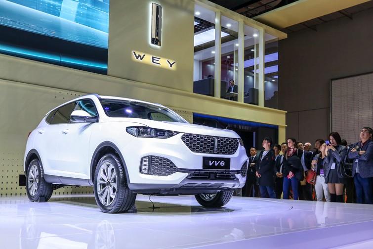 VV6 Collie智行版于车展正式发布