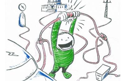 """面对电动车这个""""高功率电器"""",电网管理也要补补脑力"""