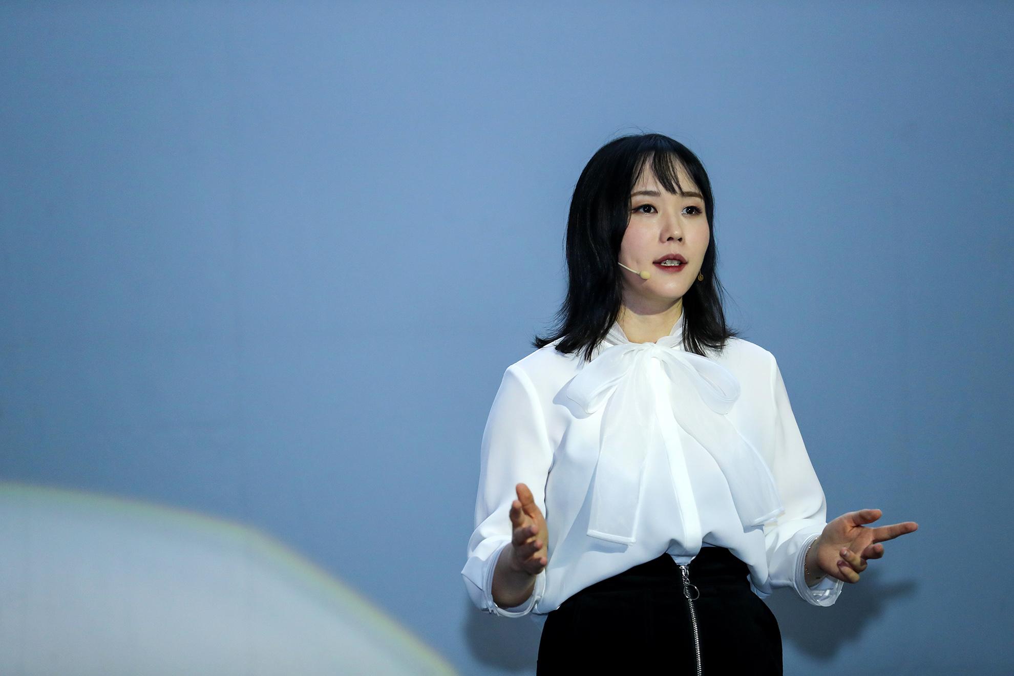 吉利icon外饰设计主导师马蓉女士