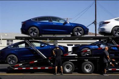 特斯拉第三季度电动车销量激增,Model 3交付量为55,480辆