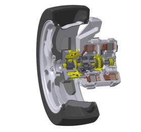 日本精工研发出全球首款带变速箱的轮毂电机