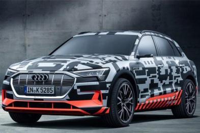 奥迪首款纯电动SUV将于今年上市