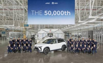 第一家越过5万辆门槛的造车新势力诞生了
