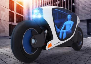 """这款""""神似""""车和家竞品的电动车,名字叫做Cyclotrons"""