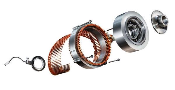 模块化设计的voltec电驱单元和行星轮结构的分解