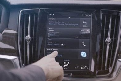 沃尔沃为其汽车提供微软商业网络电话功能