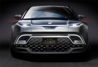 Fisker電動SUV預告圖發布