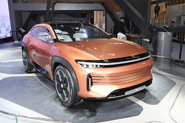 2018北京车展上亮相的EXEED概念车