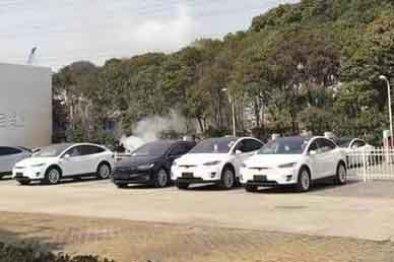 充电桩的祸?特斯拉Model S车型也自燃了