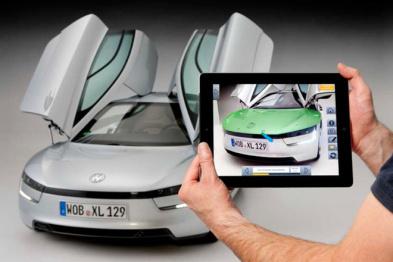 如何利用增强现实技术飙升品牌的科技逼格?参考一下奔驰和大众的做法