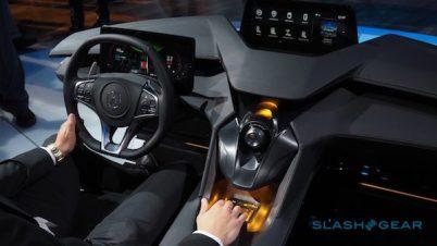 讴歌展示未来概念驾驶舱仪表