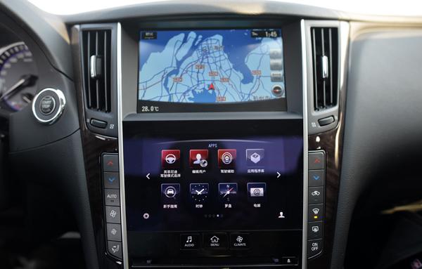 英菲尼迪Q50的双屏设计
