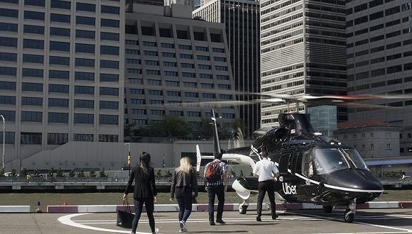 "Uber将在纽约推出直升机服务:从曼哈顿""打飞的""去机场"