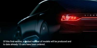 Lightyear将于2019年推出太阳能电动车