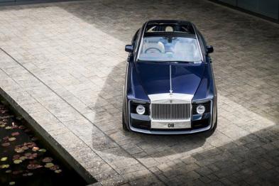 劳斯莱斯定制车慧影发布,售价合8900万元