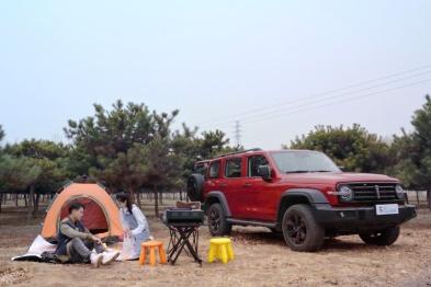 情侣周末玩车、露营、轻度越野 畅享坦客潮范儿!