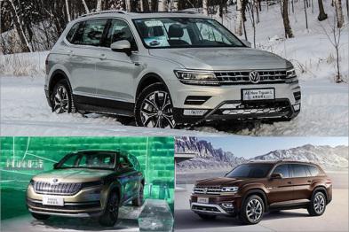 上汽大众1月销量破21万,9款新车将上市