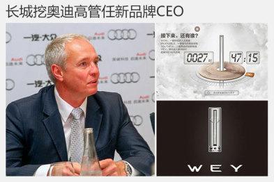 长城挖奥迪高管任新品牌CEO,造高端SUV